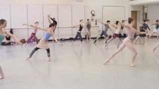 Centro da aula do Pacific Northwest Ballet