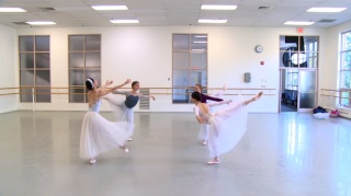 Ensaio do Boston Ballet, Pas de Quatre