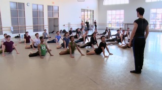 Ensaio do Boston Ballet - Pas de Quatre