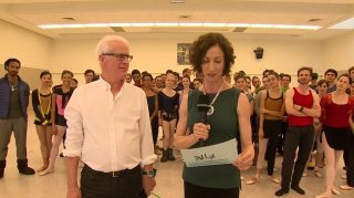 Final da transmissão com todos os bailarinos