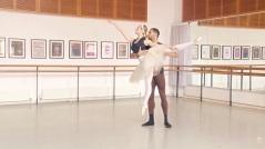 Jade Heusen e Brandon Lawrence, do Birmingham Royal, dão 'aula' de pas de deux