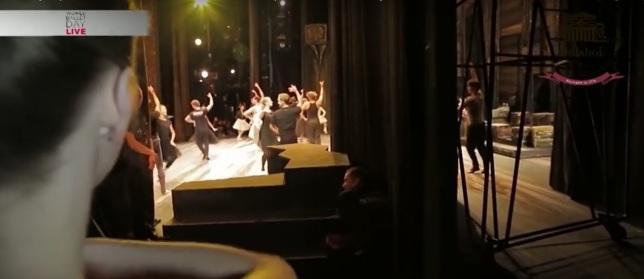 Backstage!