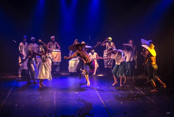 """Excerto do espetáculo """"Tradições de Uma Bahia"""" Foto: Edvaldo Luneto"""