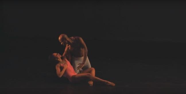 Linda Celeste Sims e Glenn Allen Sims dançam pelo Alvin Ailey (Foto: Reprodução)