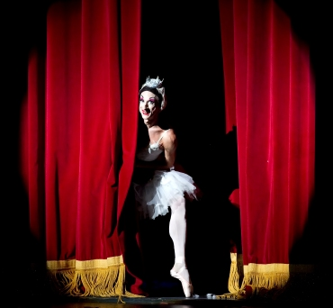 Curtain call de A Morte do Cisne (Foto: Gene Shiavone)