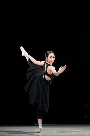 Marina Fernandes da Costa Duarte em variação clássica