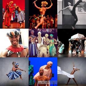 Ed e o Balé Folclórico da Bahia