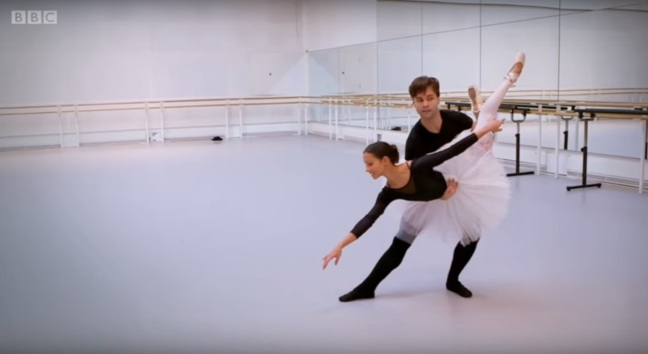 Francesca Hayward e Alexander Campbell