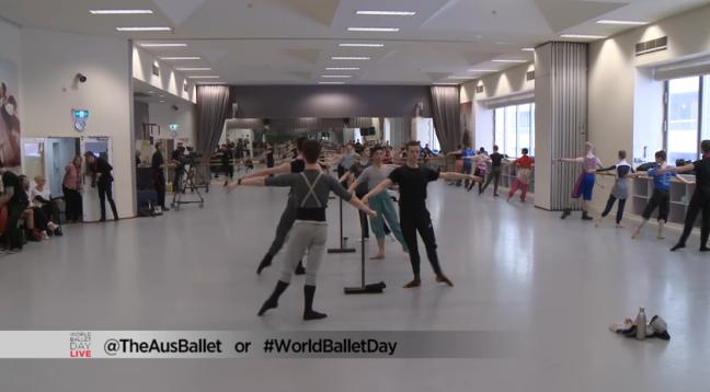 Australian Ballet em aula