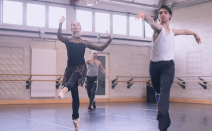 Tamara Rojo em ensaio no English National Ballet