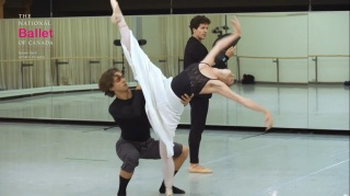 Nijinsky e seus movimentos ousados! (Foto: Reprodução)