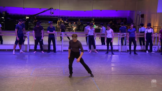 Beginning of The Wind Rehearsals (Photo: Playback / YouTube)