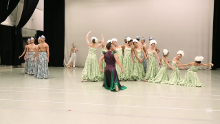Dress rehearsal in The Little Mermaid. (Photo: Reproduction / YouTube)
