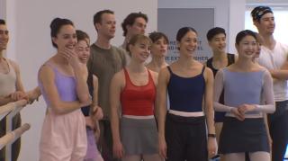 Bailarinos felizes!