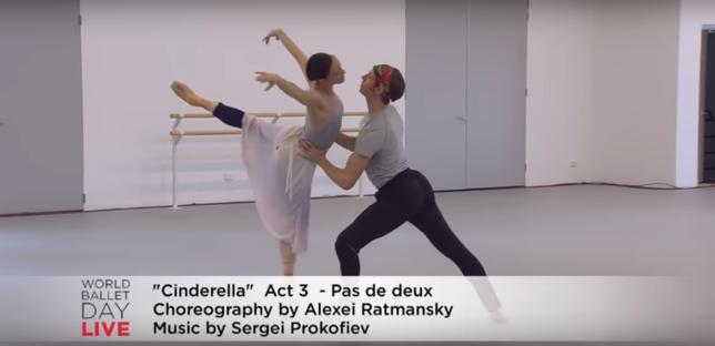 Leanne Stojmenov e Ty King Wall em Cinderella