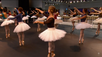 Corpo de baile de La Bayadère