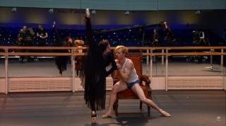 McRae e Laura Morera em Mayerling