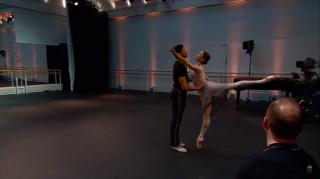 Marianela Nuñez e Thiago Soares em Winter Dreams
